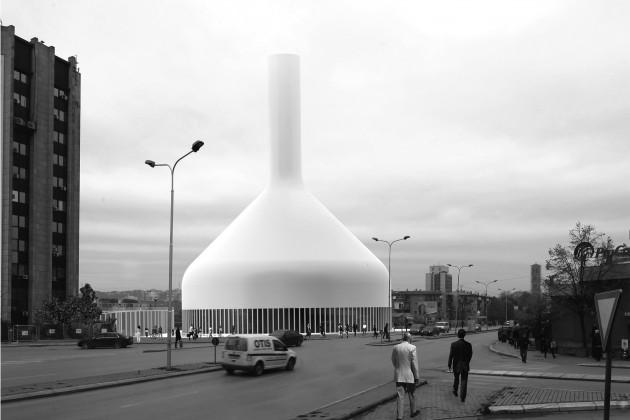 Central Mosque Priština